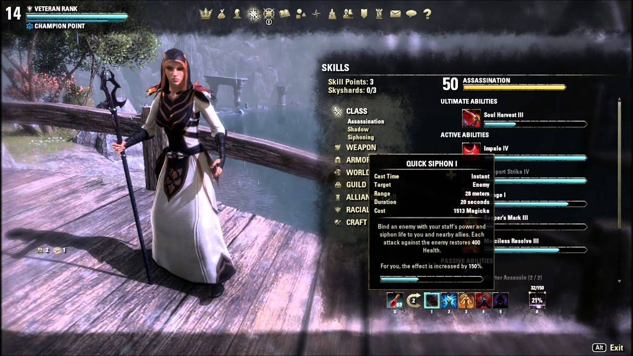 Eso Nightblade Magicka Dps Build Home