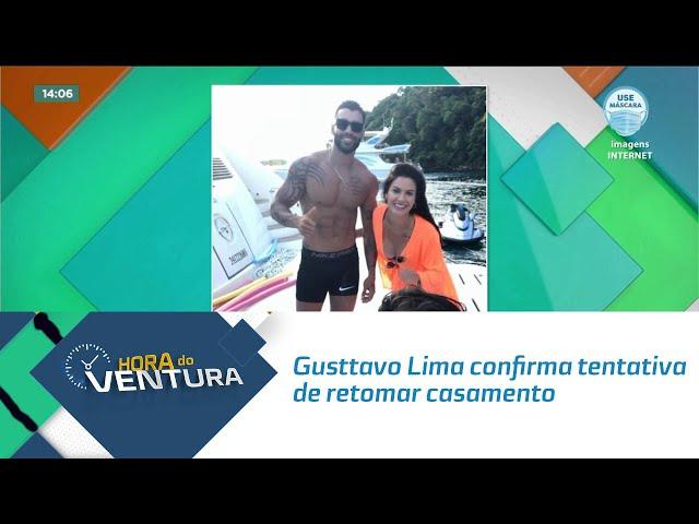 Gusttavo Lima confirma tentativa de retomar casamento com Andressa Suita