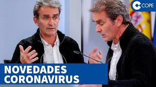 Fernando Simón actualiza datos sobre coronavirus en España