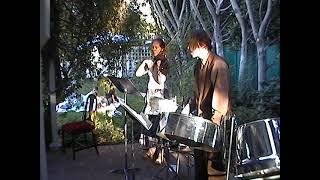 Flower Songs - Part 1 - Tanya Bovaird violin - Joseph Peck steel pans
