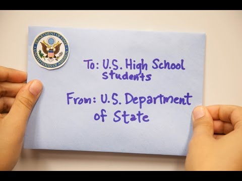 Study Abroad in High School with the U.S. Department of State