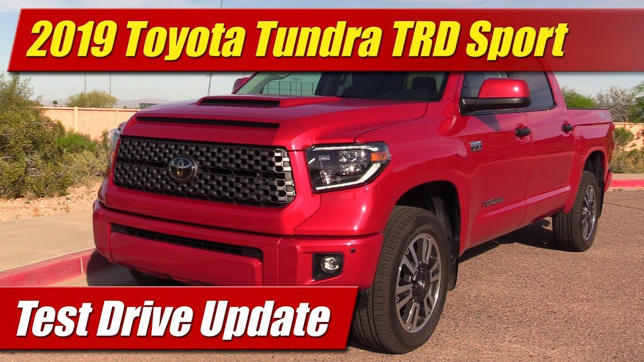 2019 Toyota Tundra TRD Sport: Test Drive Update