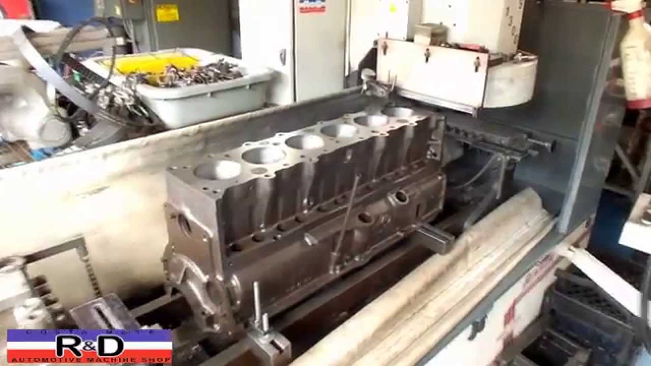 Gmc Costa Mesa >> 216 Chevrolet Cylinder Block Resurface - YouTube