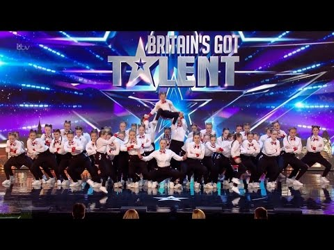 Britains Got Talent 2016 S10E06 Deja Vu Massive All Girl Dance Troupe Full Audition