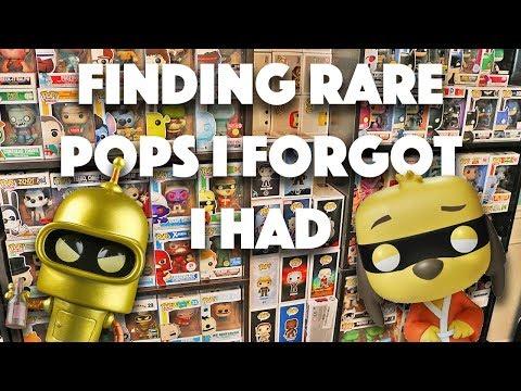 Rearranging the Shelves  Rare Pops I Forgot I Had