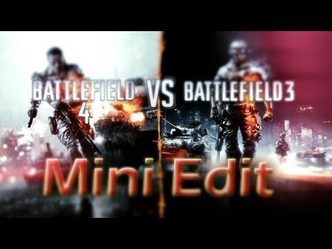 بتلفيلد 4 ضد باتلفيلد 3 ايديت بسيط || BF4 vs BF3 Mini Edit By Dhmas