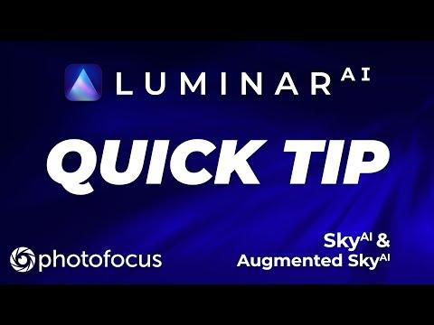 Luminar AI Quick Tip: Sky AI & Augments Sky AI
