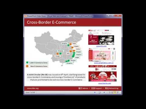 The Chinese e commerce opportunity  Selling Direct to Chinese Consumers through the Royal Mail T mal