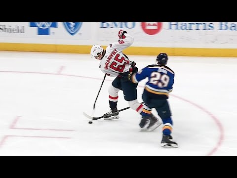 Burakovsky's phenomenal deke on Dunn leads to goal