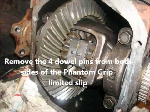 Nissan 350Z Phantom Grip Limited Slip Differential Install