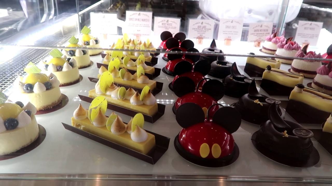 Amorettes Patisserie Disney Springs Trying some Disney Themed Treats - YouTube
