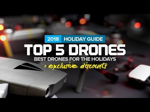 Best Drones for the Holidays - 2018 DJI Black Friday Deals + Exclusive Coupons Mp3