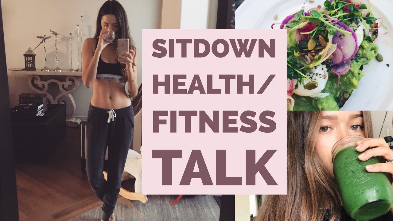 Sit down Health & Fitness Talk | My Lifestyle & Tips | Mommy, Holistic Nutritionist, Model image
