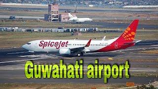 Guwahati airport...