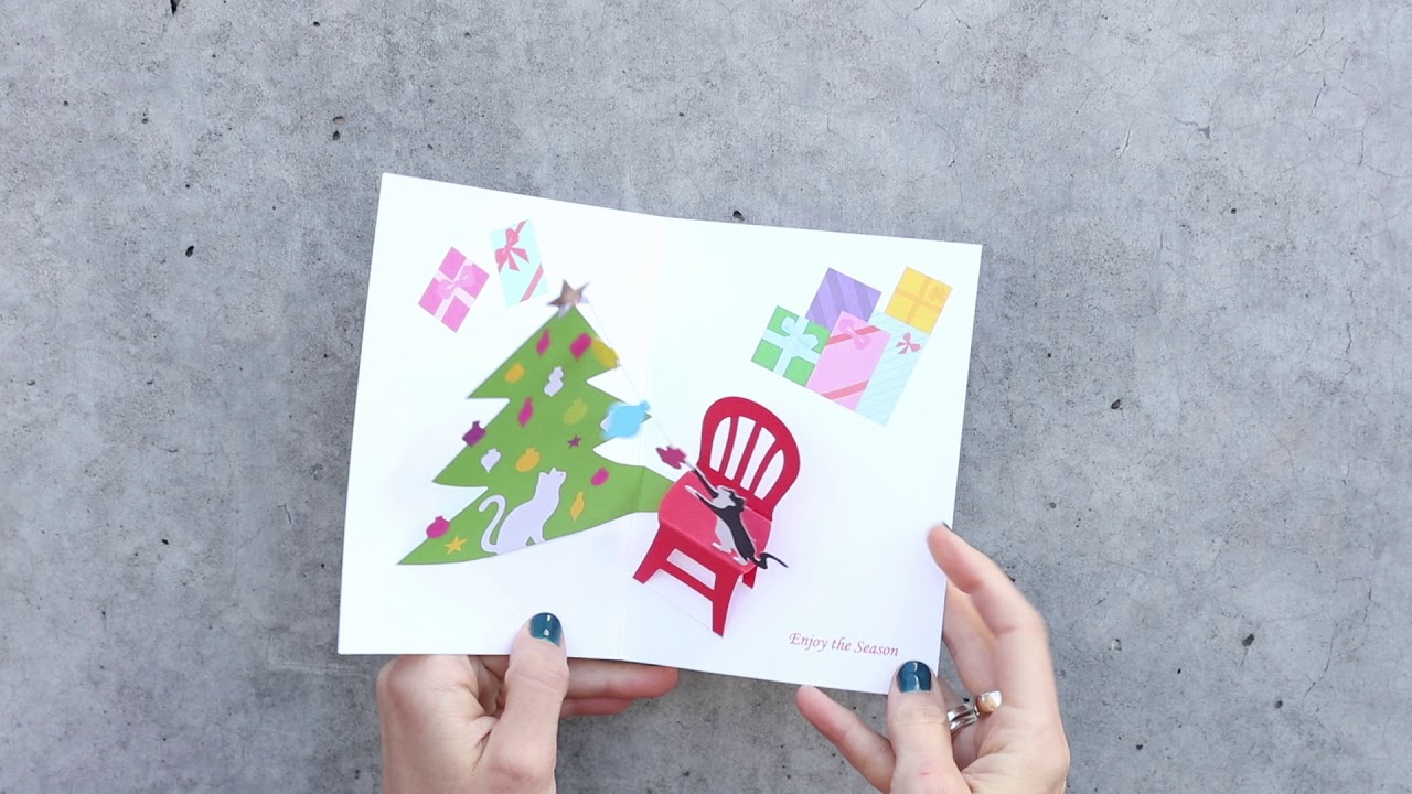 christmas cats holiday cards moma design store - Moma Holiday Cards