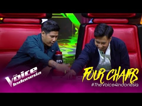 Ini Dia Penampilan Yang Bikin Para Coaches Berbalik! | Four Chairs | The Voice Indonesia GTV 2019
