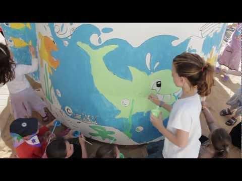 UWI Donates Bomb Shelters To Kindergarten In Nitzan