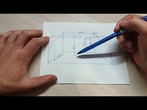 Расчёт лестницы для начинающих. Проектирование каркаса.
