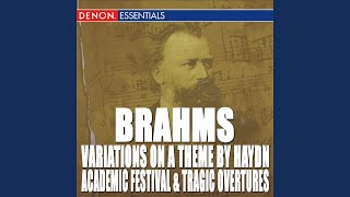 Variations on a Theme by Haydn, Op. 56: Variation 4. Andante con moto