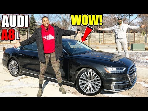 THE BRAND NEW 2019 AUDI A8 L REVIEW!!