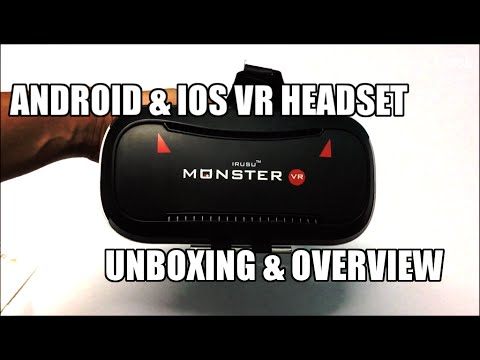 IRUSU Monster 3D VR Headset Unboxing And Overview (INDIA)