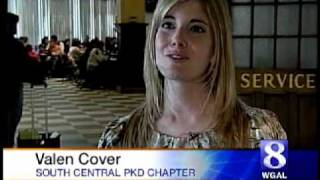 Valen Cover Helps Raise Awareness of Polycystic Kidney Disease (PKD) - WGAL (March27, 2010)
