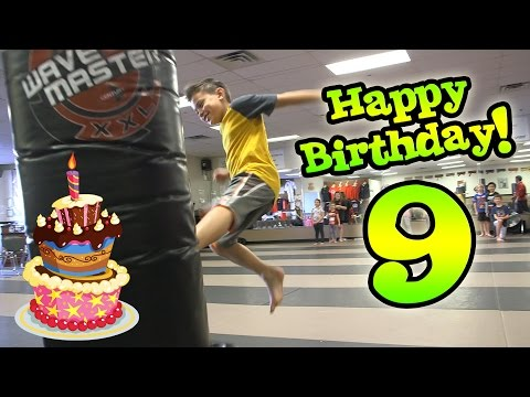 Download Evan's 9th Birthday! KARATE PARTY! Extreme Dodgeball Madness! Screenshots
