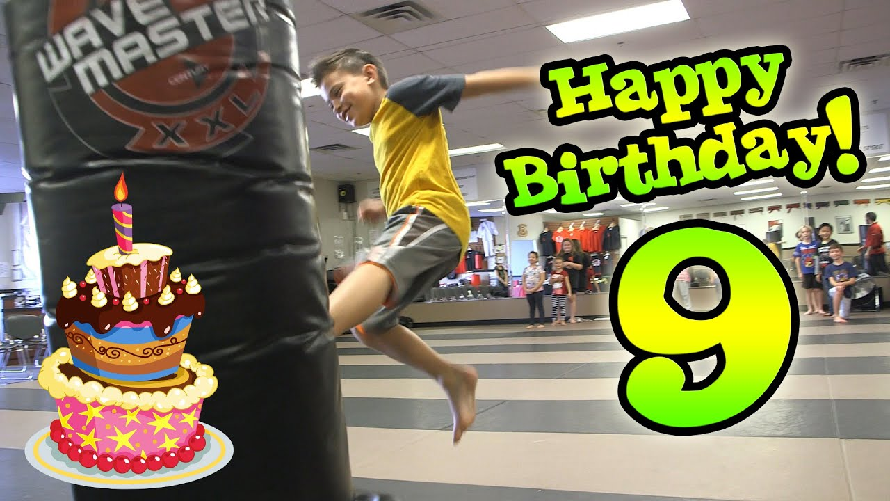 Evan S 9th Birthday Karate Party Extreme Dodgeball