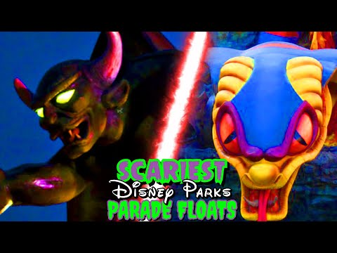 Top 15 Scariest Disney Parade Floats