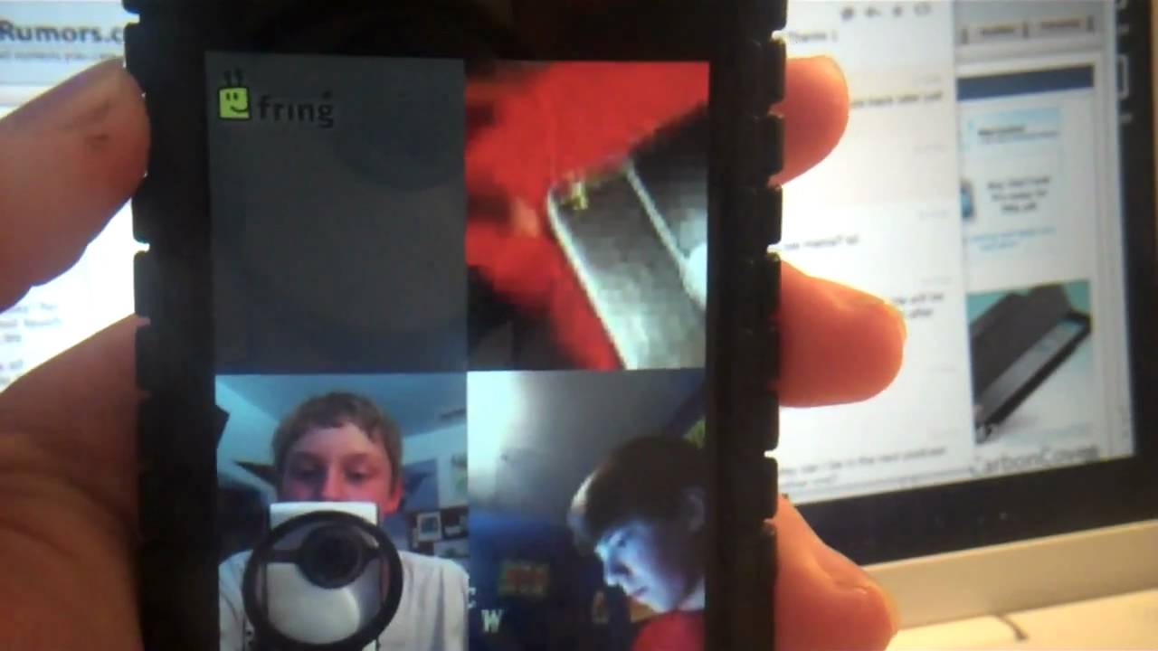 group facetime on iphone 4 ipod touch 4g and android youtube. Black Bedroom Furniture Sets. Home Design Ideas