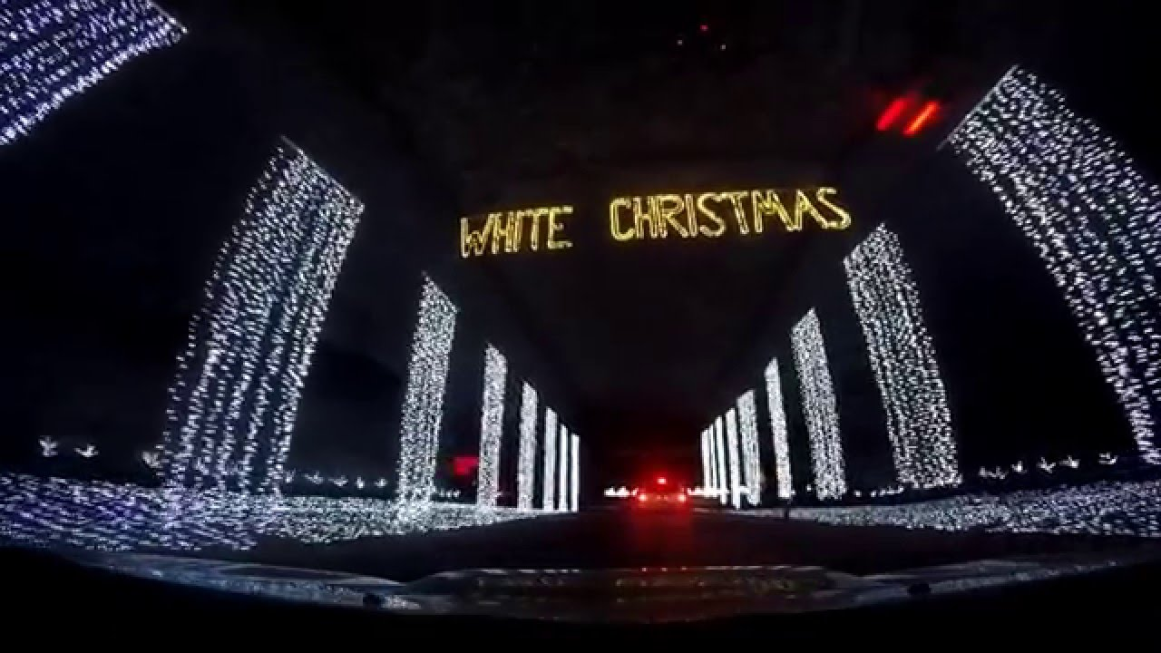 Drive Through Christmas Light Show Youtube