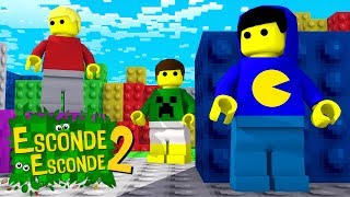 Minecraft: ESCONDE ESCONDE DE LEGO! (Esconde Esconde 2)