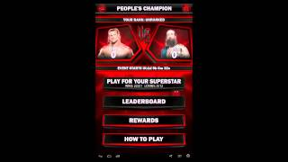 WWE Supercard #38 PCC Ziggler vs. Harper Rewards and other minor changes!!!