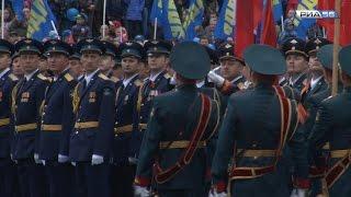 Парад Победы в Оренбурге 2017