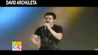 David Archuleta Live In Manila TV AD 2011