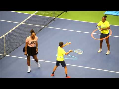 S. Williams joins Kids' Day of US OPEN 2018