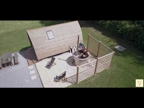 SV Glamping Wigwam With Wood Fired Hot Tubs (Adult Only)
