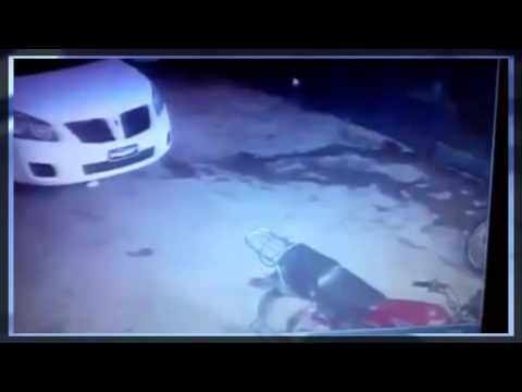 Caught on CCTV * Police Man Killed During Gun Battle with Criminals.