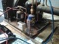 mise en place d'un pressostat de régulation ventilateur condenseur