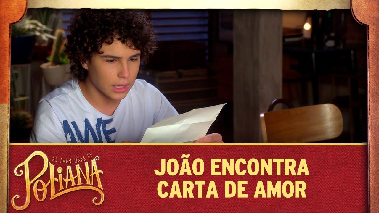 João encontra carta de amor | As Aventuras de Poliana