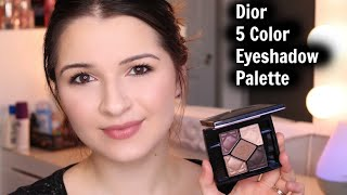 Dior 5 Colour Eyeshadow Palette First  Impressions