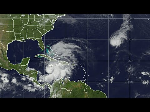 weather report Tropical storm forming in the Caribbean