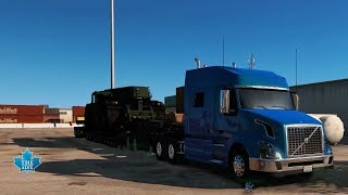 American Truck Simulator | Your Volvo be done ! | PC Gameplay