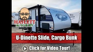 UPDATED Wolf Pup 17JG U Dinette Slide Mini Cargo Bunkhouse Cherokee Travel Trailer