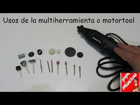 Multiherramienta o mototool, sus multiples usos.