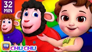 Baa Baa Black Sheep Rainbow Song + More ChuChu TV Baby Nursery Rhymes & Kids Songs