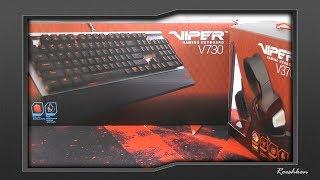 Podstawowy mechanik i słuchawki na USB od Patriot Viper Gaming - niedługo na kanale