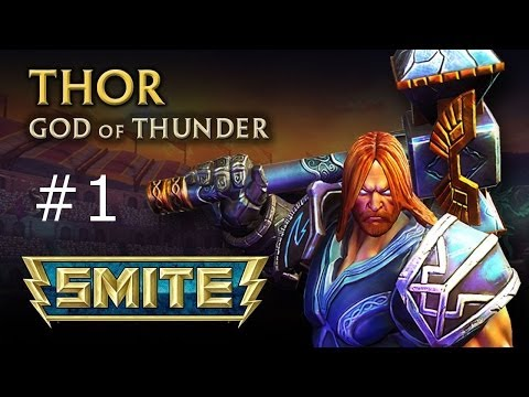 *OLD Smite Thor Gameplay #1 Victory