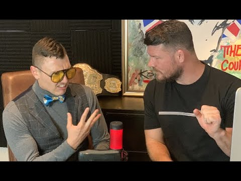 Michael Bisping Interviews The Schmo on His Podcast