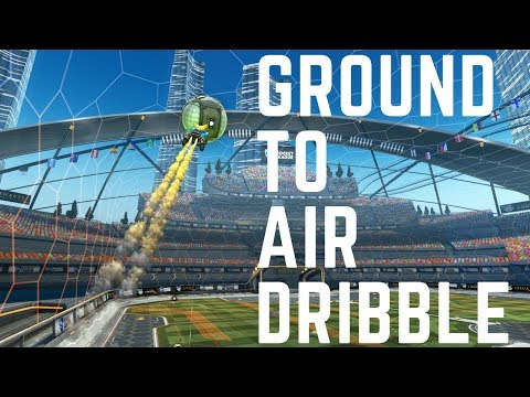 Air Dribble From Ground Rocket League Tutorial